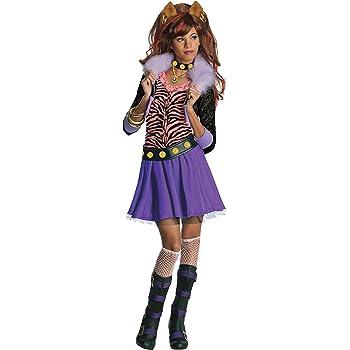 Monster High - Disfraz de Clawdeen Wolf para niña, infantil 8-10 ...