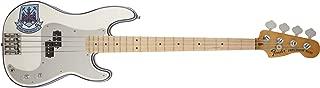 Fender Steve Harris Precision Bass, Maple Neck, Olympic White with Stripe