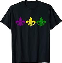 Fleur De Lis T Shirt Mardi Gras New Orleans Costume