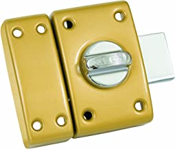 Abus CLK CB45 B C Classic Cilinder en Knoopbout Lock 45 mm Diameter Brons