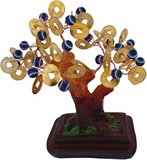 Feng Shui Import Money Tree with Evil Eye Jewels