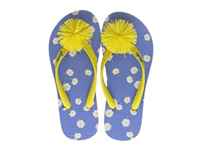 Joules Kids Flip-Flop (Toddler/Little Kid/Big Kid) (Blue Daisy) Girls Shoes