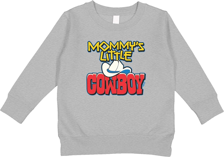 Amdesco Mommys Little Cowboy Toddler Sweatshirt