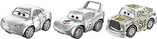 Disney Pixar Cars Mini Racers Silver Series 3-Pack
