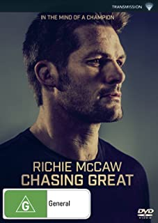 Richie McCaw: Chasing Great (PAL) (REGION 4) {NON UK REGION / IMPORT}