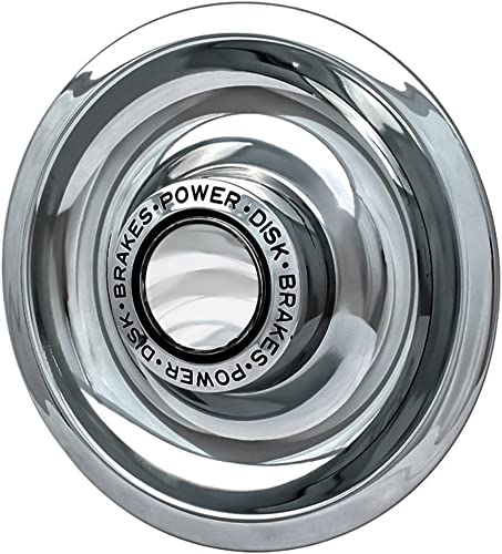"""new arrival OxGord Tri-Bar Rally Wheel Center Caps 2021 (Pack of 4) Best for GM Classic Car Accessories 