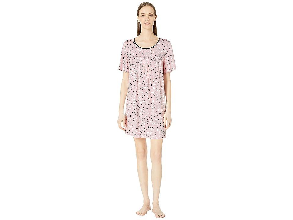 Kate Spade New York Evergreen Sleepshirt (Scattered Dot Pink) Women