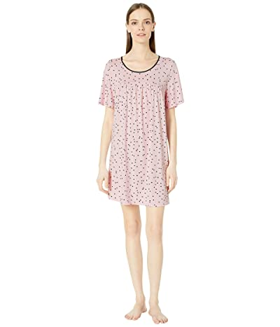 Kate Spade New York Evergreen Sleepshirt (Scattered Dot Pink) Women