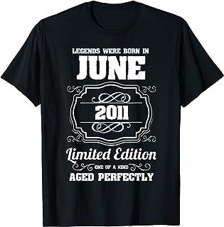 Les légendes sont nées en Juin 2011 10ème Anniversaire T-Shirt