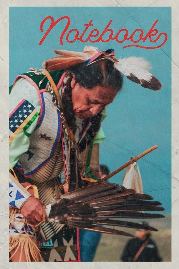 うんざりうんざり億Notebook: Native American Dance Costumes Practical Composition Book Journal Diary for Men, Women, Teen & Kids Vintage Retro Design Feather Headdress