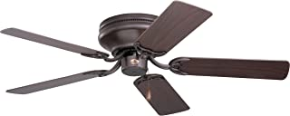 Emerson Ceiling Fans CF804SORB Snugger Low Profile Hugger Ceiling Fan, 42-Inch Blades, Light Kit Adaptable, Oil Rubbed Bronze Finish