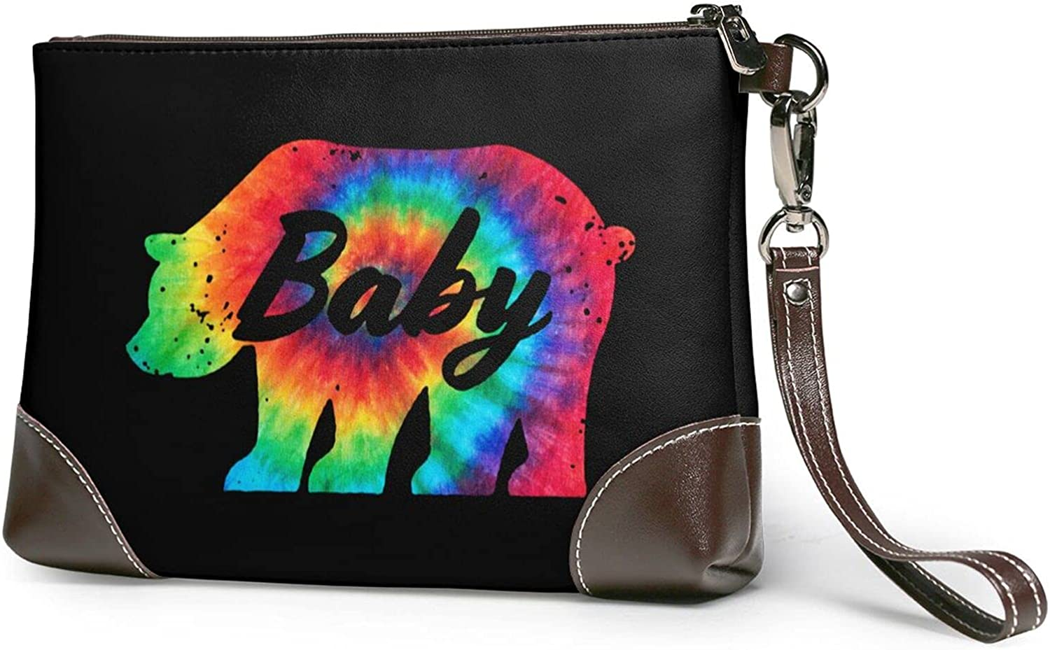 Max 76% OFF Cute Baby Sloth Ladies Leather-Handbag Real Outlet SALE Design Wrist Cowhide