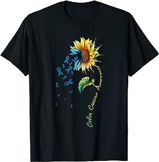 Colon Cancer Awareness Sunflower Shirt