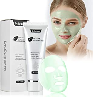 Blackhead Remover Mask Skin Care Remove,Tear-off Mask Pure Plant Green Tea Extract,Deep Cleansing Pore Strip Moisturizing ...
