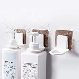 FemKey Soporte de Botellas Baño 3 Piezas Sostenedor de Botella Baño Dispensador de Botellas de Jabón de Baño Sin Perfora...