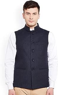 Vastraa Fusion Men's Blended Bandhgala Festive Nehru Jacket/Waistcoat/Vest