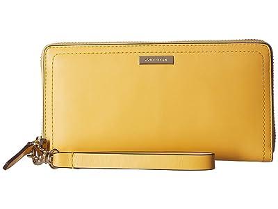 Cole Haan Lock Group Continental Wallet (Sunset Gold) Handbags