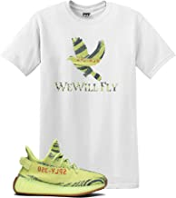 We Will Fit Bird Shirt to Match The Adidas Yeezy Boost 350 V2 SEMI Frozen Yellow YEBRA