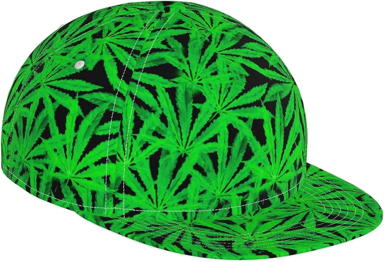 Fantasy Marijuana Regular discount Weed Green Leaf High quality Baseball Hat Cap Adjustab Cute