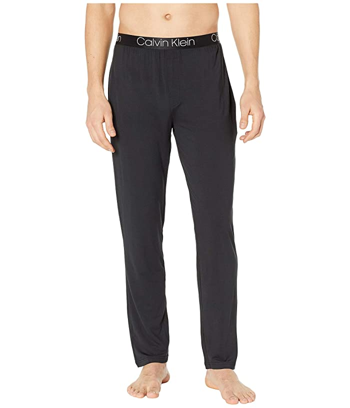 Calvin Klein Underwear  Ultra Soft Modal Sleep Pants (Black) Mens Pajama