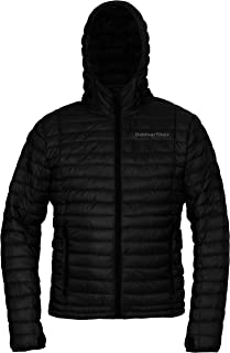 Outdoor Vitals Men's Ultralight Down Jacket - Packable, Athletic Fit, 800+ Fill Power, DWR Treated, Hooded
