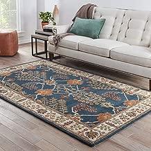 Jaipur Rugs Transitional Blue 3.6X5.6 Feet Wool Oriental Rug and Carpet