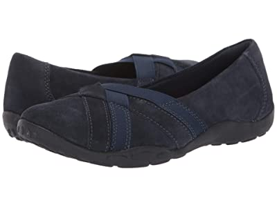 Clarks Haley Jay (Navy Suede) Women