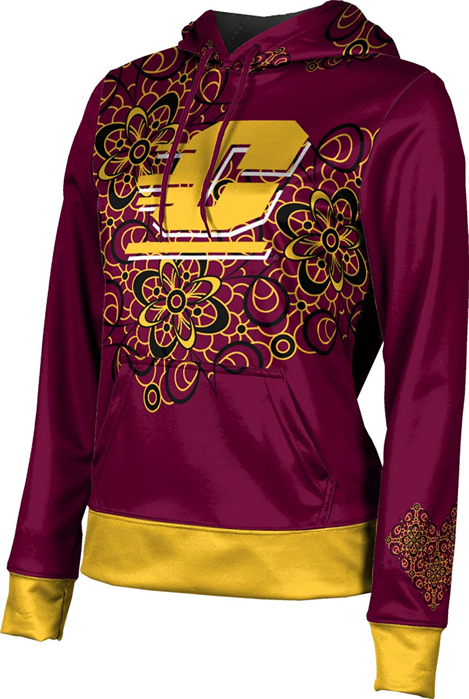 ProSphere Central Michigan University Girls' Pullover Hoodie, School Spirit Sweatshirt (Foxy)
