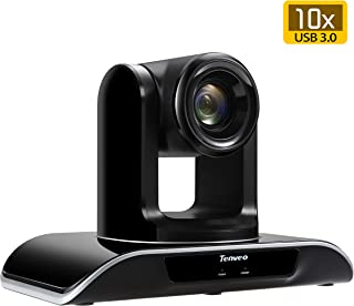 Tenveo Conference Room Camera 10X Optical Zoom Full HD 1080p HDMI USB3.0 PTZ Camera for Business Meetings (VHD103U)