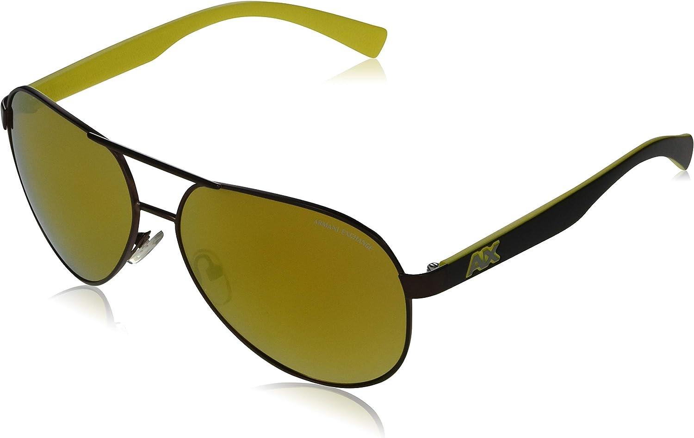 AX Armani Exchange Men's Metal 25% OFF Sunglasses Sales for sale Aviator Ax2031s