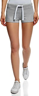oodji Ultra Donna Pantaloncini Basic in Maglia