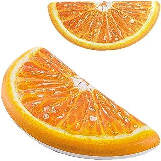 Intex Realistic Print Mattress Orange 178 x 85 cm
