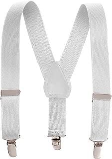 Best white suspenders kids Reviews