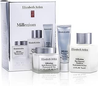 Elizabeth Arden Millenium 3 Piece Set - Day Renewal Emulsion (2.5 oz), Night Renewal Cream (1.7 oz), Eye Renewal Cream (0.5 oz)