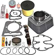 TOP NOTCH PARTS REPLACEMENT CYLINDER PISTON COVER PERFORMANCE CAM SHAFT CAMSHAFT FOR 1999-2008 HONDA TRX400EX TRX 400EX