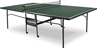 Ping Pong Fury Table Foldable Regulation Size Tennis Table with Caster Wheels