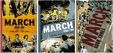 March: Book One+Two+Three 2013 2015 2016