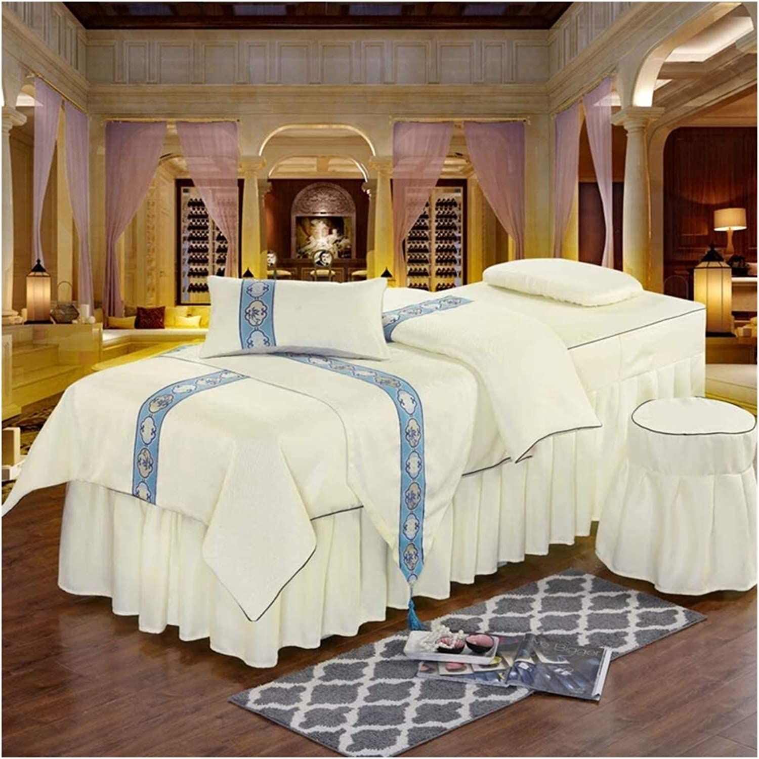 ZHANGYN Massage Table Sheet Sets Spa Beauty Pure Ranking TOP1 Bed Translated Colo Cover