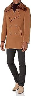 معطف رجالي من ستاسي آدمز مزدوج الصدر 86.36 سم