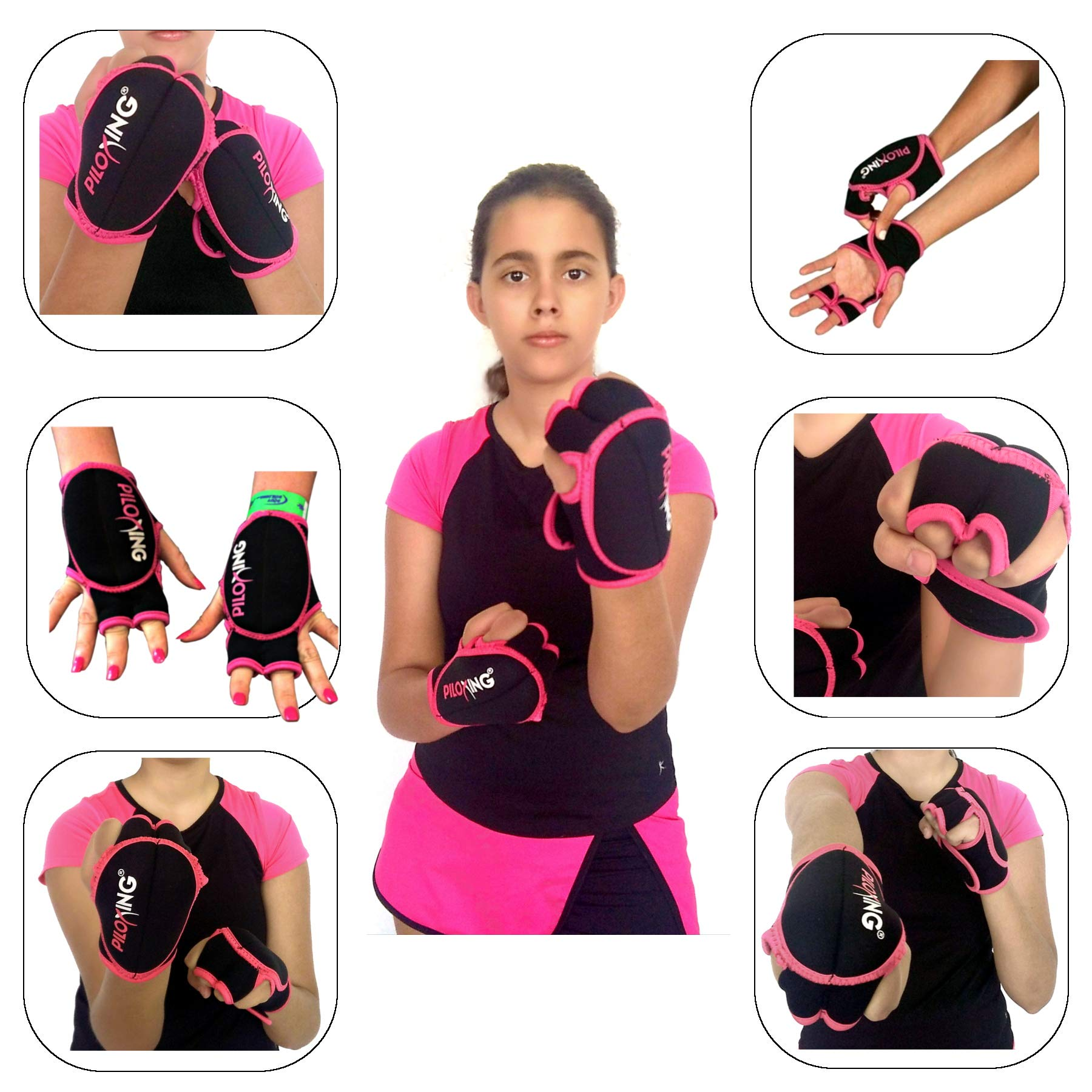 PILOXING SG_B00L4G96UY_US Weighted Gloves