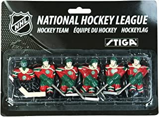 STIGA Minnesota Wild Table Rod Hockey Players