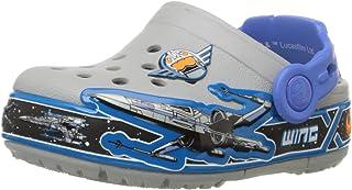 Crocs 儿童 Star Wars X-Wing 发光洞鞋