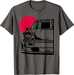 Automotive Apparel German JDM Tuning Car Part 911 964 Gaming T-Shirt