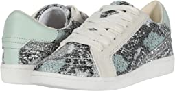 Mint Multi Snake Print Leather