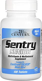 21st Century Sentry Senior Multivitamin & Multimineral Supplement Men 50+, 100 Tablets