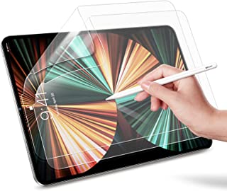 """ESR (2-Pack) Paper-Feel Screen Protector for iPad Pro 11"""" 2021&2020&2018/ iPad Air 4 10.9"""" 2020, Supports Pencil,Write & D..."""