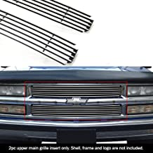 APS Compatible with 94-99 C K Pickup Suburban Blazer Tahoe Main Upper Billet Grille N19-A11058C