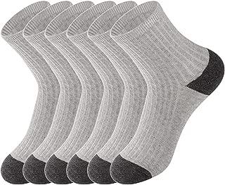 LifeWheel Cute Cotton Breathable Child Kids Boy Girl Student Socks 2 OR 6 Pair
