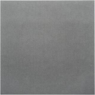 Beadsmith XCR-4200 Ultra Suede for Beading Foundation and Cabochon Work, Grey, 8.5 x 8.5
