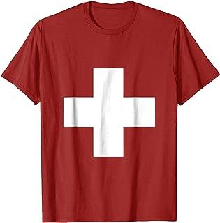 Switzerland Flag Swiss Cross T-Shirt